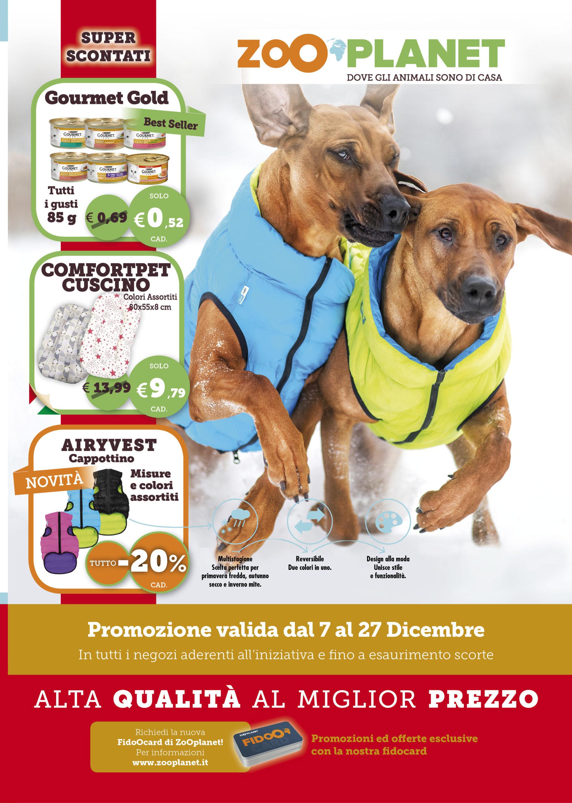 Promozioni Zooplanet Dicembre 2020